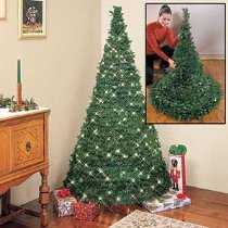 Collapsible Prelit Christmas Tree